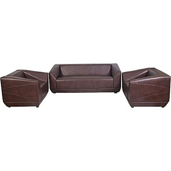 Marvelous Brown 5 Seater Leather Sofa Sa300 Elifemate Forskolin Free Trial Chair Design Images Forskolin Free Trialorg